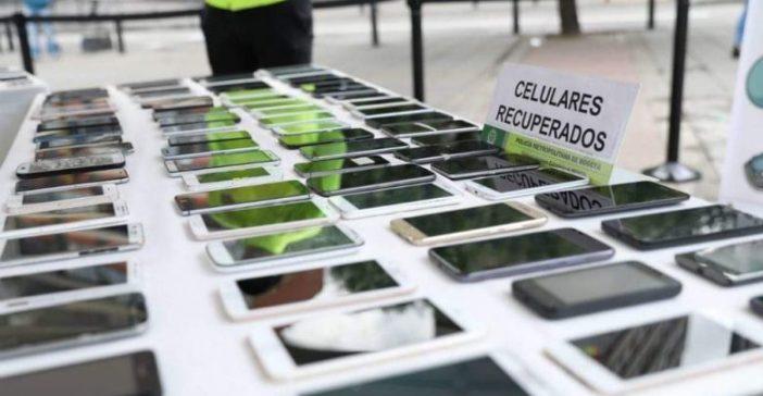 Resultado de imagen para imagen de celulares incautados por la policia de santa marta