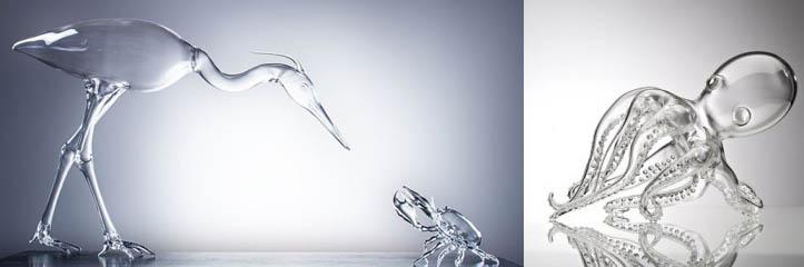 驚くべきガラス彫刻by Simone Crestani