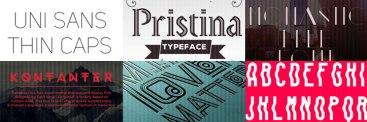 エレガントなデザインにぴったり、40の美しく使いやすいフリーThin(細字)フォント