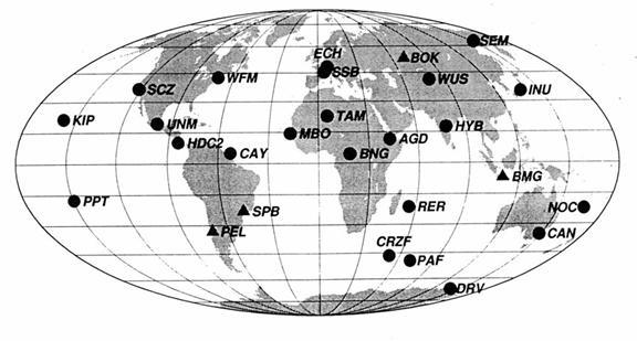 seismograph diagram modern