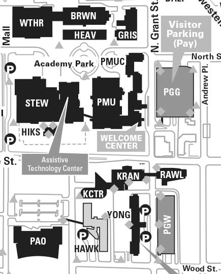 Mines Campus Map : mines, campus, Colorado, School, Mines, Campus, Maping, Resources