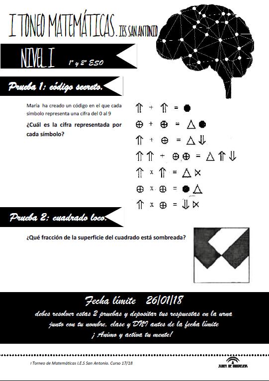ITorneoMatematicasIESSanAntonio-Fase1-Nivel1