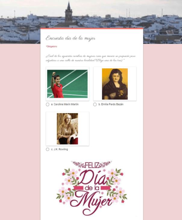 Encuesta día de la mujer - IESSA