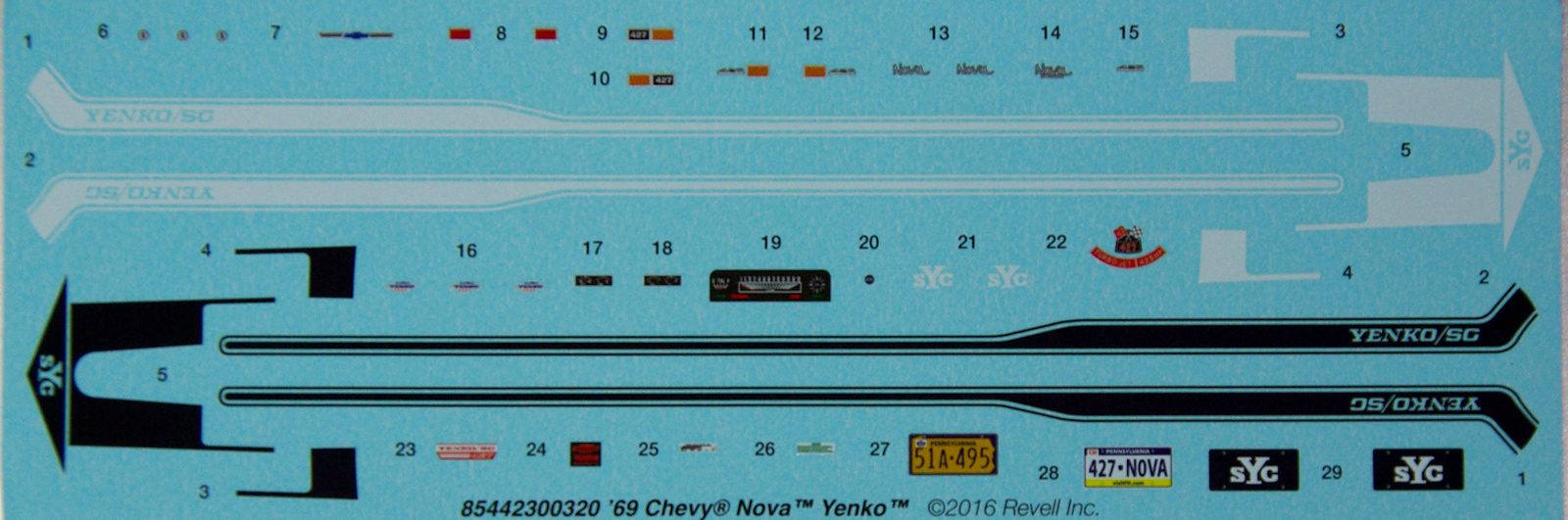 Review Chevy Nova Yenko Ipms Usa Reviews