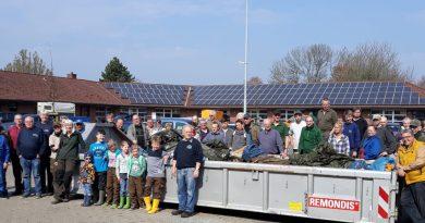Bürgermeister unterstützt den Umwelttag der Brunsbüttler Vereine