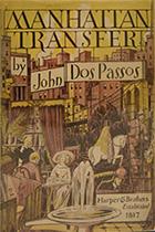 'Manhattan Transfer' by John Dos Passo book cover