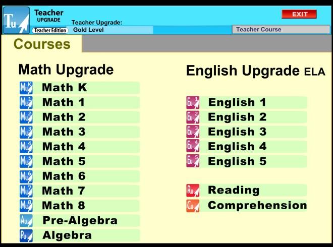 TeacherUpgrade