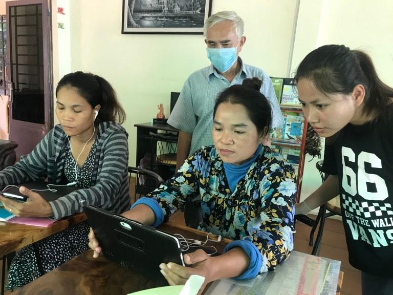 Global Learning ESL App Remote International Cambodia