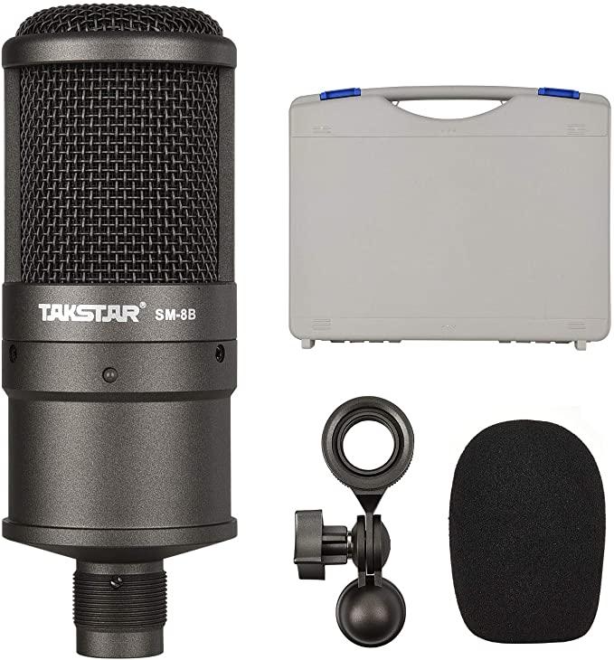 Mikrofon Takstar SM-8B mit Zubehör