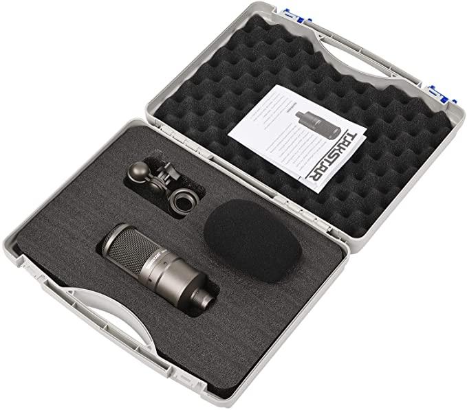 Mikrofon Takstar SM-8B im Koffer