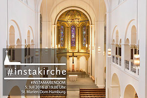 erster instawalk im st marien dom st marien dom hamburg. Black Bedroom Furniture Sets. Home Design Ideas