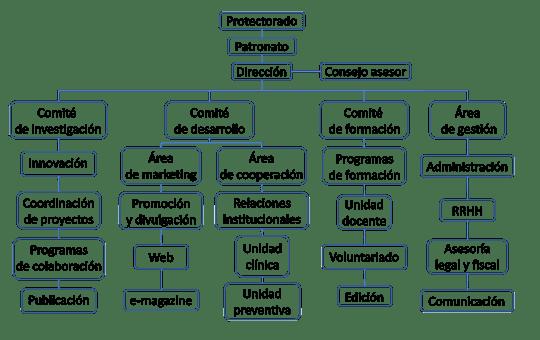 Organigrama Fundación Manternal
