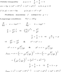 MATH2111 Higher Several Variable Calculus: The Holder ...