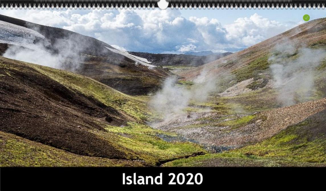 Kalender Island 2020
