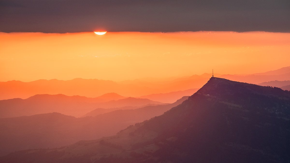 Sonnenaufgang auf dem Pilatus