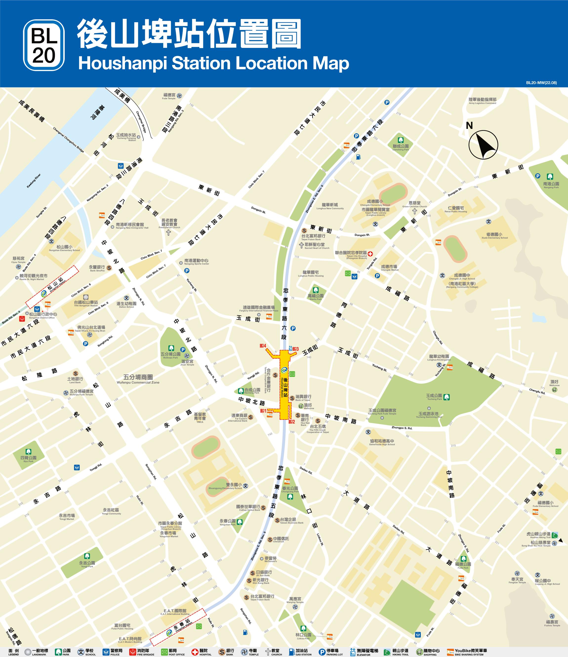路網圖,各站資訊及時刻表