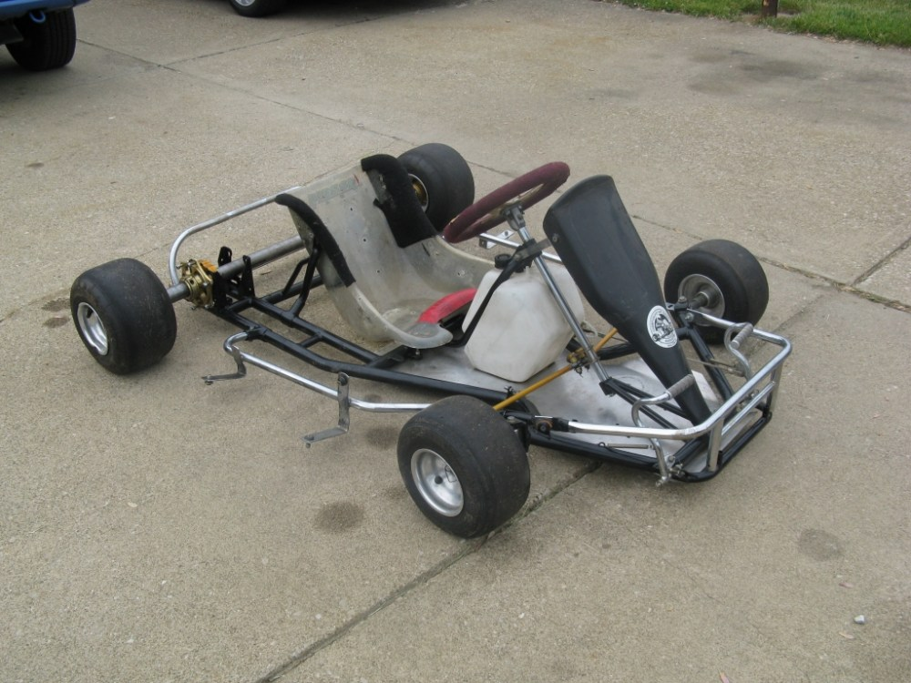 medium resolution of the kart a haase racing kart chassis used but in good shape