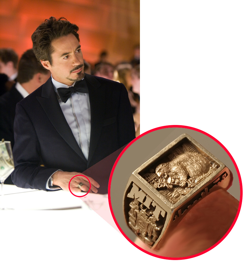 quotIron Ratquot Stark39s MIT ring from the 2nd movie