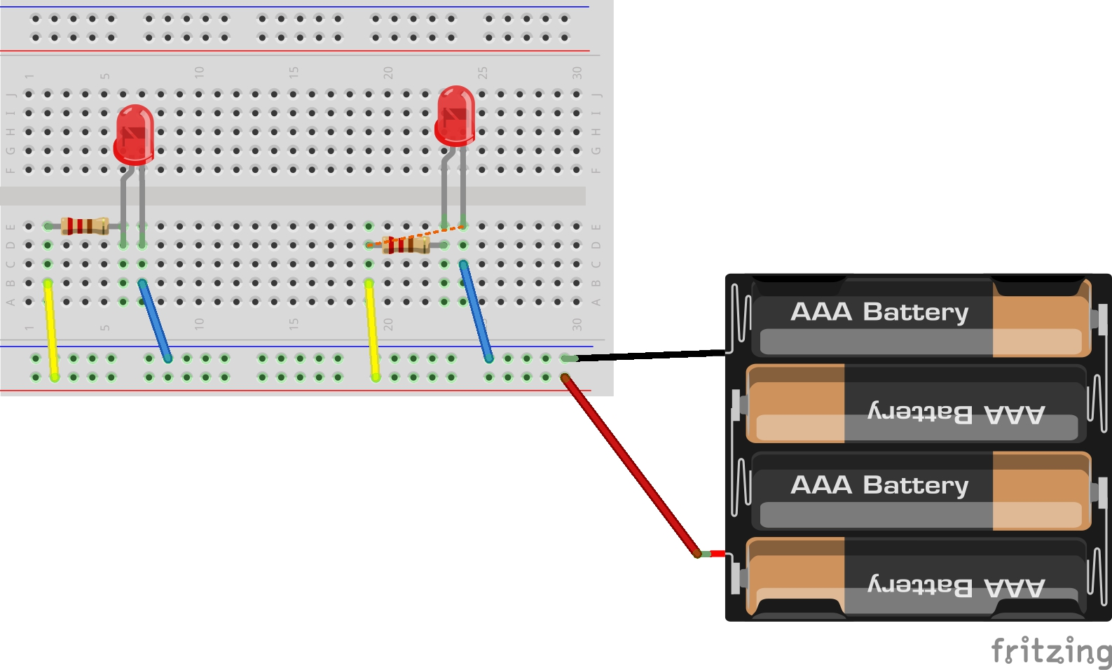 hight resolution of hint breadboard and schematic diagrams for parallel led circuit