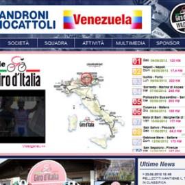 Androni Giocattoli – Venezuela impegnata nel Giro d'Italia, e noi con loro negli aggiornamenti quotidiani del sito internet