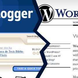 Realizzare siti web e blog in pochi click. WordPress o Blogger?