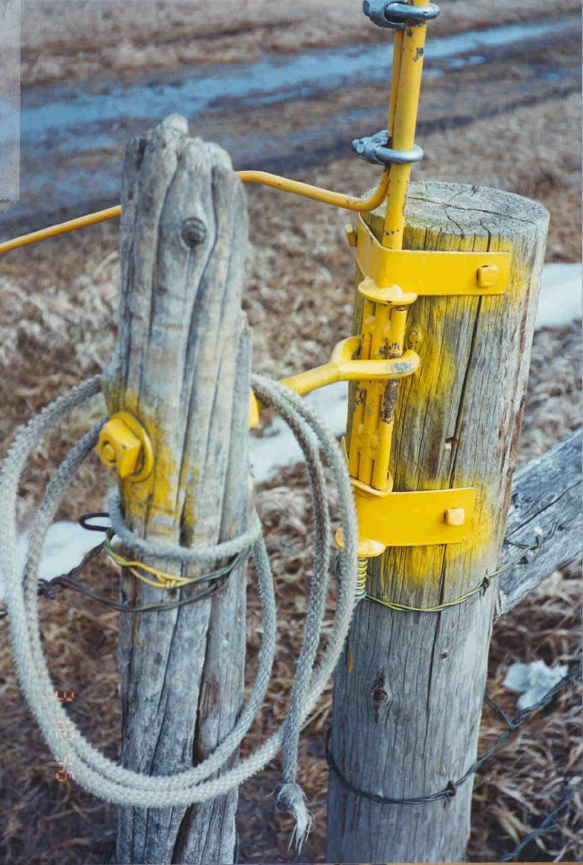 Wire Gate Latch