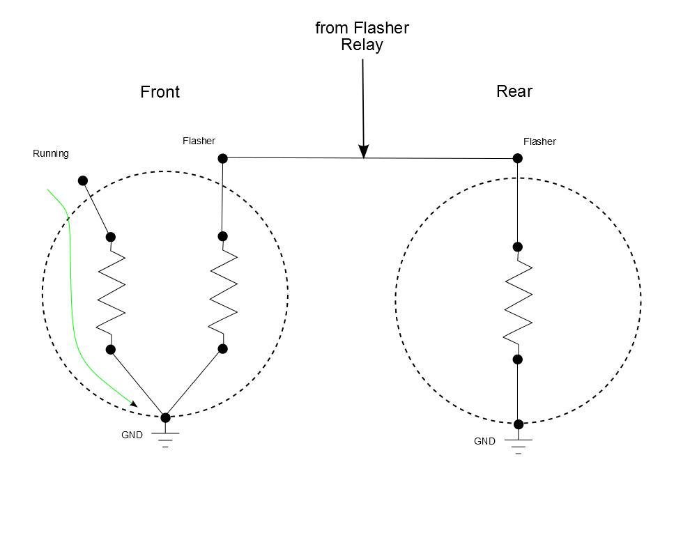 Incandescent circuit