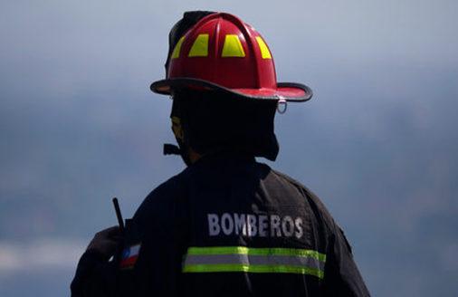bombero quillota incendio valparaiso