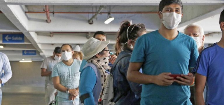 Primer contagio de Covid-19 en La Cruz