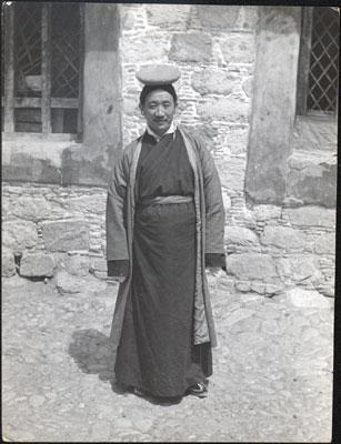 Rinzin Dorji alias Chang Ngönpa / Rinchengang (1901-1945) © Tibet Album
