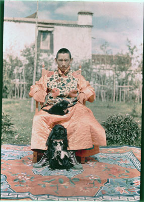 Reting Rinpoche, régent de 1934 à 1941. © The Tibet Album