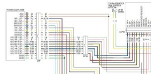 audio system wiring schematicdiagram  GL1800Riders