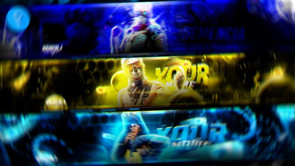 You can save the banner template youtube background image 1024x576 here. Youtube Gaming Banner Download