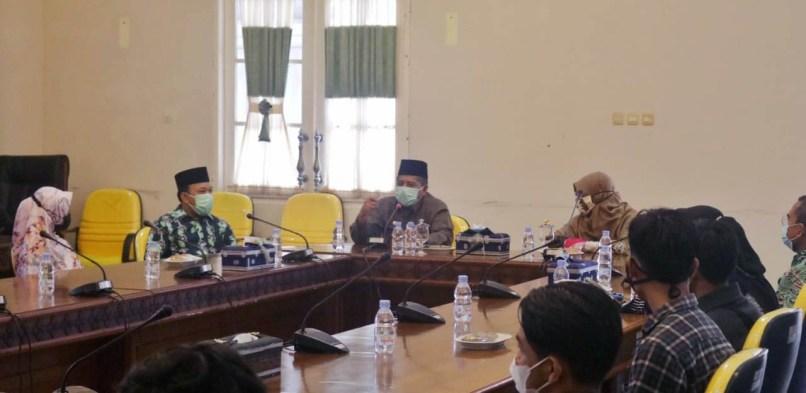 Audiensi Dan Silaturahmi Pemkab Siak Bersama Institut Agama Islam Tazkia Bogor
