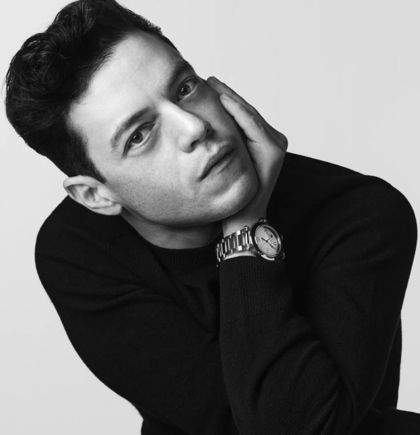 One of the figureheads of the new Pasha collection is actor Rami Malek., GF / Cartier