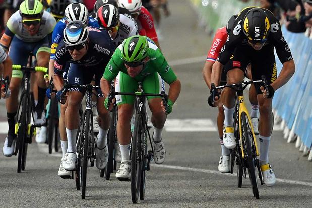 Mark Cavendish blijft voor derde ritzege Wout van Aert en Jasper Philipsen  voor - Wielrennen - Sportmagazine