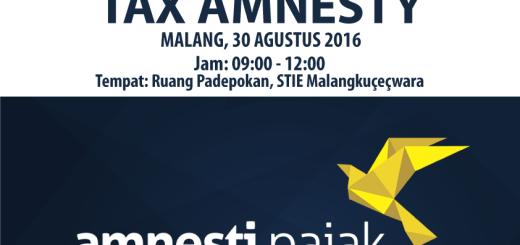 Sosialisasi Tax Amnesty