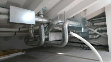 Ventilazione meccanica controllata - sottotetto 2 piano