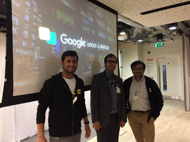 Google Adopt-a-startup H1 2017