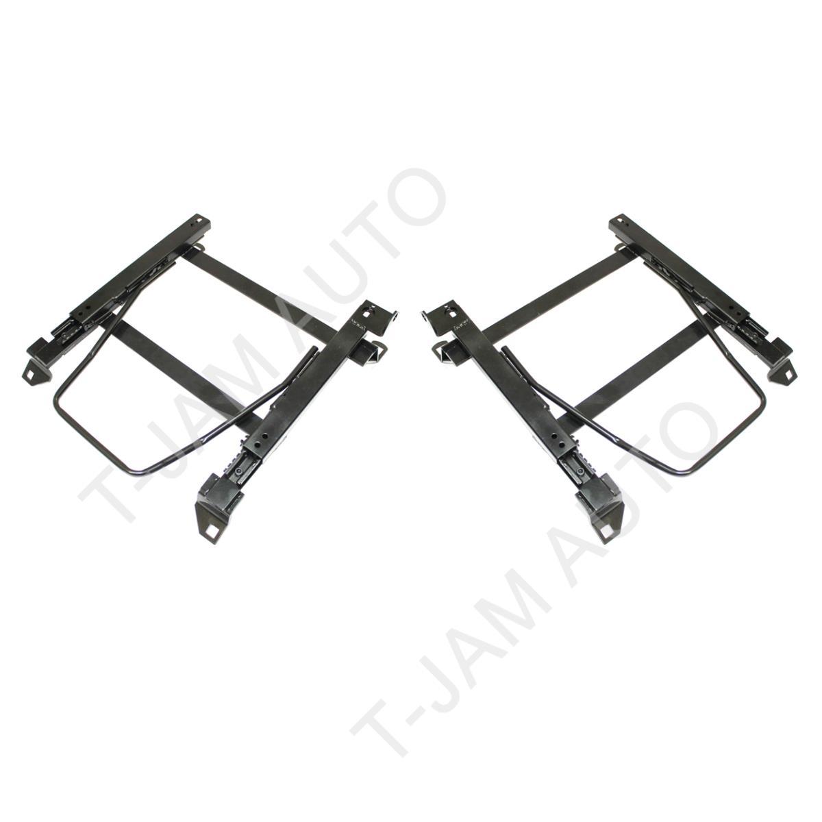 Seat Rail Adaptor Pair 4x4 4WD Toyota Landcruiser 100