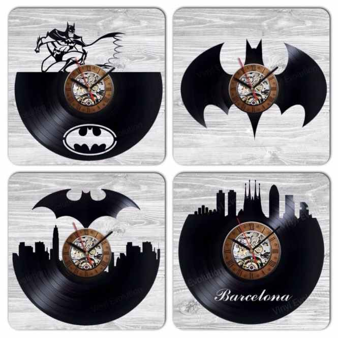Product Thumnail Image Zoom Batman Vinyl Record Clock Home Decor Party Decoration Gift