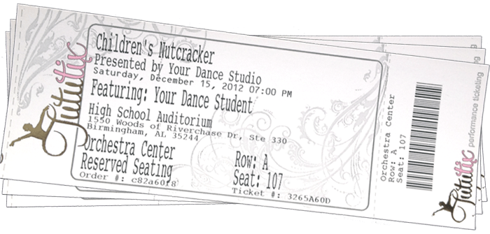 TutuTix Dance Recital Ticketing: Frequently Asked Questions