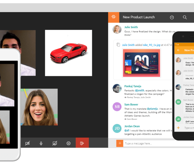 Ushare Tos Video Chat And Collaboration On Web And Mobile