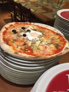 pizza a Norcia