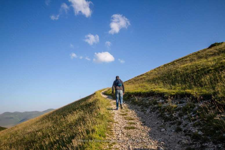 sentiero del Monte Vettore