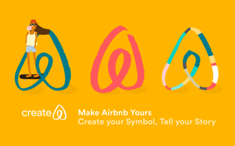 Airbnb vacation rental logo