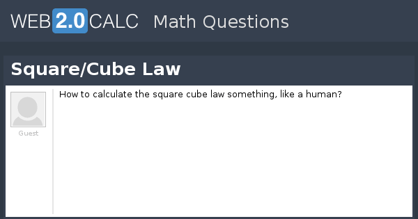 view question square cube