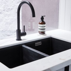 Black Kitchen Sink Red Clock Design 1 Comox Valley And Vancouver Island