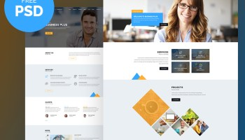 Free bootstrap corporate website template asentus business plus free psd website template flashek Choice Image