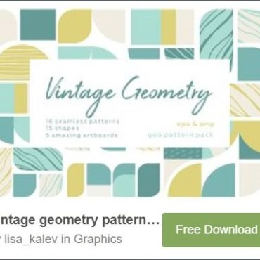 Vintage Geometry Web3Canvas